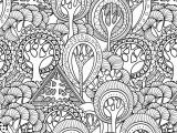 Free Sunflower Coloring Pages for Adults Tranquil Trees Adult Coloring Book