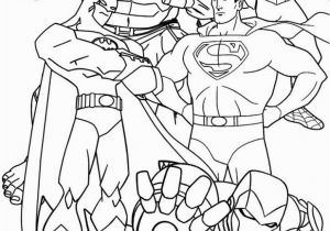 Free Superhero Coloring Pages to Print Free Printable Superhero Coloring Pages for Kids In 2020