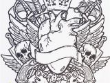Free Tattoo Coloring Pages for Adults Tattoo Designs Adult Colouring Book Colour Me Awesome