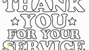 Free Thank You for Your Service Coloring Pages Free Coloring Page Thank You – Pusat Hobi