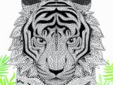 Free Tiger Coloring Pages the Menagerie