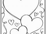 Free Valentine Coloring Pages for Preschoolers Preschool Printable Valentine Coloring Pages Fabulous Free Printable