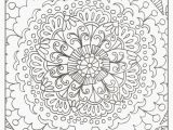 Free Winter Coloring Pages for Kids Fresh Free Mandala Coloring Pages Flower Coloring Pages