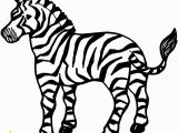 Free Zebra Coloring Pages to Print Free Printable Zebra Coloring Pages for Kids Animals