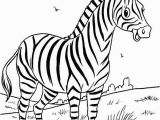 Free Zebra Coloring Pages to Print Pin by Tammie English On Preschool Speech Pinterest