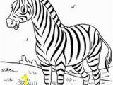 Free Zebra Coloring Pages to Print Simple Giraffe Outline