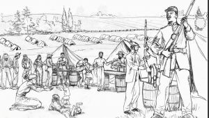 French and Indian War Coloring Pages Civil War Coloring Pages