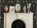French Country Wall Murals Chinoiserie Panel Wallpaper Mural Mirto Coal