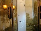 French Country Wall Murals Vivo Fine Art & Design Powder Room French Country