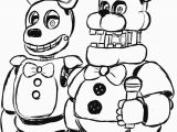 Fright Night at Freddy S Coloring Pages Five Nights at Freddys Drawings