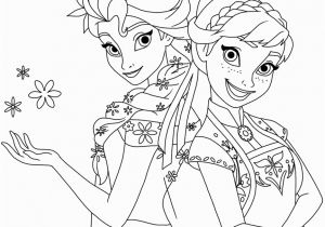Frozen Fever Coloring Pages to Print Annas Frozen Fever Birthday Printable Coloring Pages
