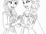 Frozen Fever Elsa and Anna Coloring Pages Frozen Coloring Pages 2