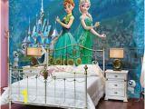 Frozen Full Wall Mural Frozen Disney Elsa Anna 3d Full Wall Mural Wallpaper