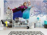 Frozen Wall Mural Wallpaper 368x254cm Girls Room Blue Decor Wall Mural Wallpaper Disney
