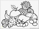 Fruit and Vegetable Coloring Pages Coloring Pages Fruits and Ve Ables for Kids Coloring Pages
