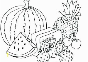 Fruit and Vegetable Coloring Pages Coloring Pages Fruits and Ve Ables for Kids Fruit and Ve Able
