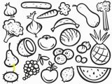 Fruit and Vegetable Coloring Pages Coloring Pages Fruits and Ve Ables for Kids New Fruit and Ve
