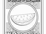Fruit Of the Spirit Coloring Page Pdf Fruit Of the Spirit for Kids