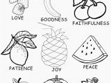 Fruit Of the Spirit Coloring Page Pdf Fruit the Spirit Coloring Page