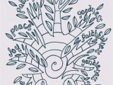 Fruit Of the Spirit Goodness Coloring Page Flame Creative Children S Ministry Fruit Of the Spirit