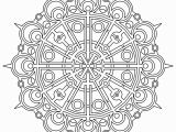 Full Page Mandala Coloring Pages Mandala Coloring Page Coordinator From