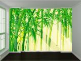 Full Wall Decal Mural Sehr Berühmt 3d Fresh Bamboo Leaves 667 Wall Paper Print