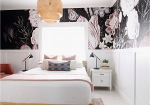 Full Wall Mural Wallpaper Vintage Floral Art Removable Wallpaper In 2019