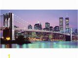 Full Wall Murals New York Biggies Wall Mural 40 X 80 New York Skyline by Fice Depot & Ficemax