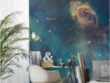 Full Wall Murals Wallpaper Uk Stellar Jet Nebula Mural Wallpaper