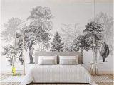 Full Wall Murals Wallpaper Uk Sumotoa 3d Mural Wall Stickers Decoration Custom Minimalist Black