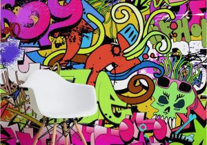 Funky Wall Murals Funky Graffiti Wallpaper Funky Wall Decor