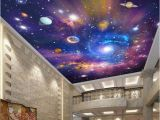 Galaxy Mural Diy Beibehang Custom Wallpaper Home Decoration Murals Vast Universe