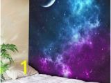 Galaxy Mural Diy Galaxy Wall Mural 13 X9 $54 Trying to Think Of Cool Wall Decor