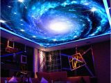 Galaxy Mural Diy Nach 3d Foto Tapete Galaxy Sterne Decke Fresko Wand Kunst Malerei