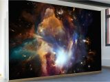 Galaxy Wall Mural Diy In the Dawn the Cosmos Wall Mural Review