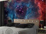 Galaxy Wall Mural Diy Lindo Galáxia Papel De Parede Nebulosa Foto Papel De Parede