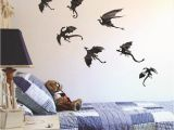 Game Of Thrones Wall Mural 7pcs Set Halloween Fantasy Decor Dinosaurs Boys Rooms Game Of