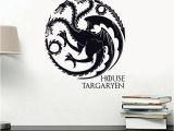 Game Of Thrones Wall Mural Game Of Thrones House Targaryen Wall Decal Vinyl Art Got Sigils