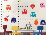 Game Room Wall Murals Pac Man Wall Decal Video Game Wall Decal Murals Kids Bedroom Diy