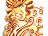 Ganesh Elevation Wall Mural Lord Ganesha Mural
