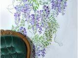 Garden Mural Stencils 58 Best Wisteria Mural Images