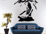 Garden Mural Stencils Lord Shiva Wall Sticker Vinyl Hindu God Decals Meditation Stencil