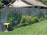 Garden Murals for Outdoors Fence Art 25 Pieces Of Art Using A Backyard Fence as the Canvas