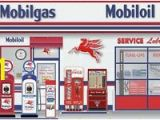 Gas Station Wall Murals Details About Mobil Gas Station Scene Pegasus Wall Mural Sign Banner Garage Art 10 X 20