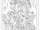 Gel Pen Coloring Pages Creative Haven Creative Christmas Coloring Book Adult