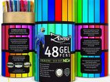Gel Pen Coloring Pages Zenzoi Gel Ink Pens Set – Quick Dry Non toxic Artist Quality assorted Colored Roller Pens Ideal for Art Supplies Adult Coloring Books Sketching