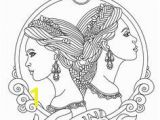 Gemini Coloring Pages 298 Best Colouring Pages Figures Images On Pinterest In 2018