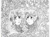 Gemini Coloring Pages Gemini Anti Stress Adult Coloring Pages