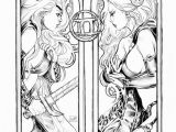 Gemini Coloring Pages Lady Death Zodiac Gemini Lines by toolkittenviantart On