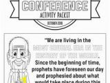 General Conference Coloring Pages 2019 25 Best General Conference Activity Packets Images